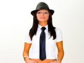 Как завязывать женский галстук