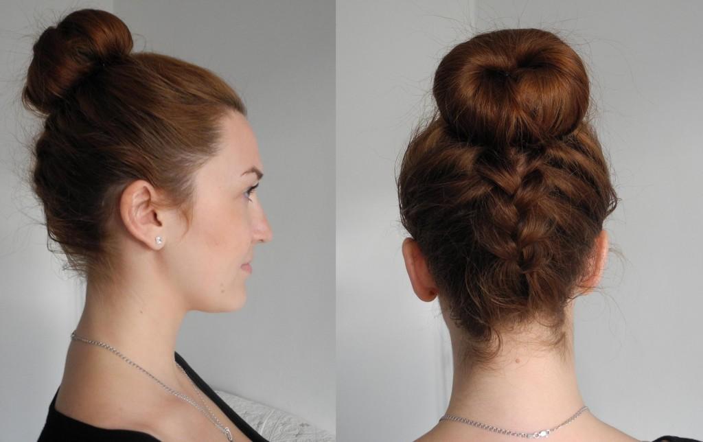 Простые повседневные причёски. Какими они должны быть? Оригинальные хвостики и пучки.. Фото №11